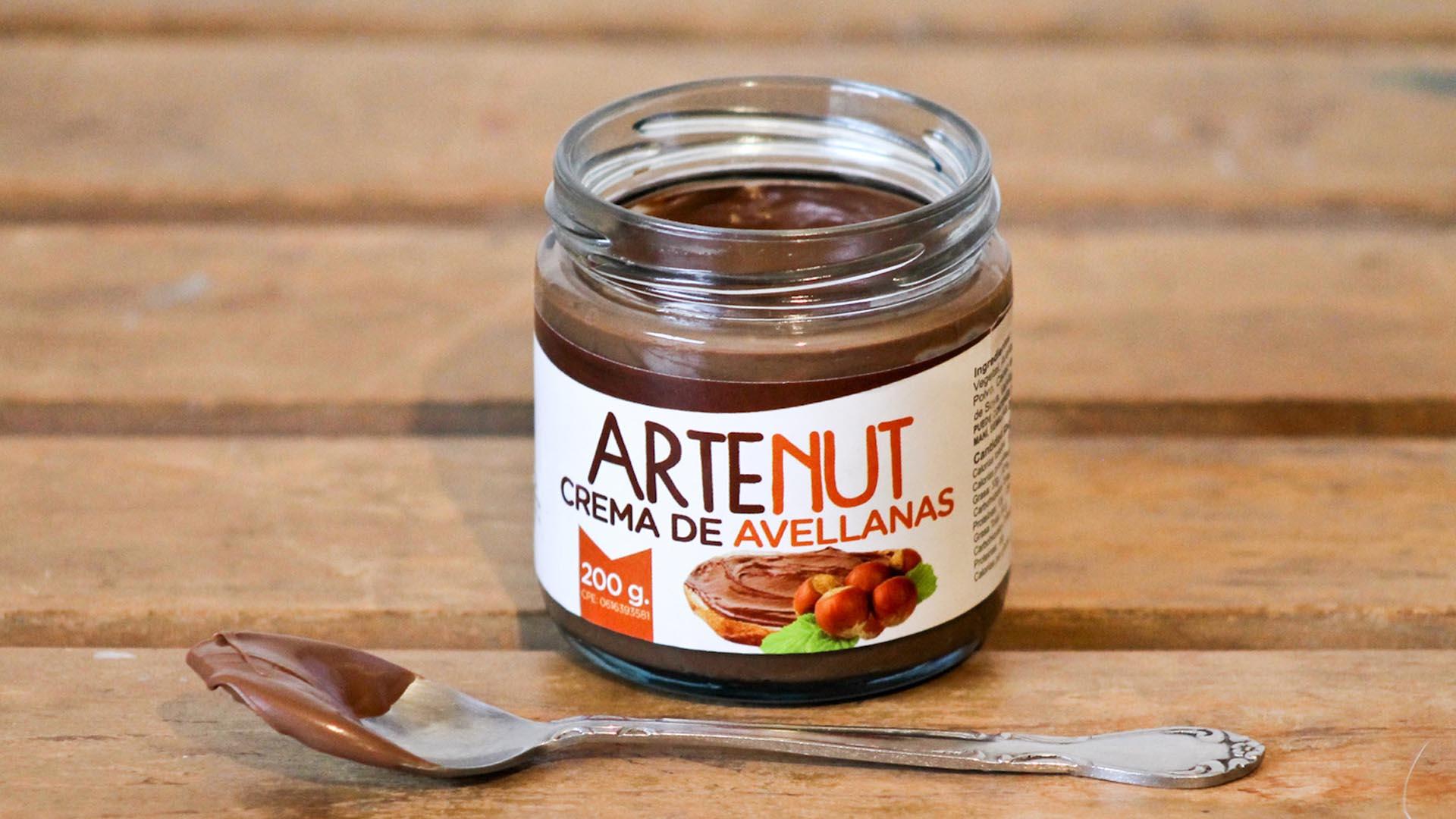 Crema de avellanas Artenut de Artekao